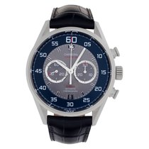 TAG Heuer CAR2B10 Steel Carrera Calibre 36 43mm pre-owned United States of America, Florida, Surfside