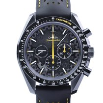 Omega Speedmaster Professional Moonwatch Keramiek 44.25mm Zwart Geen cijfers