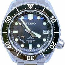 Seiko Prospex Titanium 44.8mm Black No numerals