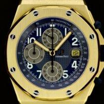 Audemars Piguet Or jaune Remontage automatique 42mm occasion Royal Oak Offshore Chronograph