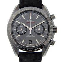 Omega Speedmaster Professional Moonwatch Cerâmica 44.25mm Preto Sem números
