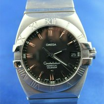 Omega 15115100 Acero 2002 Constellation Double Eagle 35mm usados