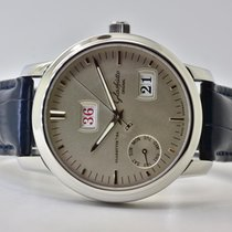 Glashütte Original Senator Calendar Week Steel 40mm Silver No numerals