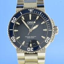 Oris Aquis Date Stahl 43mm Blau Deutschland, Berlin