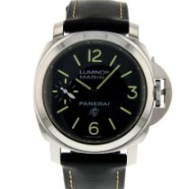 Panerai Luminor Marina Stal 44mm Czarny Arabskie