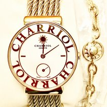 Charriol St-Tropez Steel 30mm White No numerals
