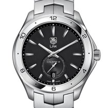 TAG Heuer Link Calibre 6 Steel 40mm Black