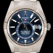 Rolex Sky-Dweller Сталь 42mm Синий