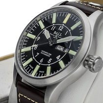 Ball Engineer Master II Aviator Steel 46mm Black Arabic numerals