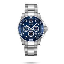Longines HydroConquest Steel 43mm Blue No numerals United States of America, New York, Bellmore