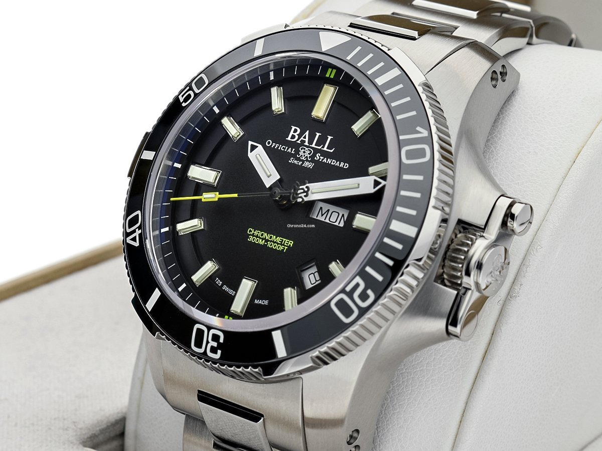 Ball Engineer Hydrocarbon DM2236A-SCJ-BK 2020 nuevo