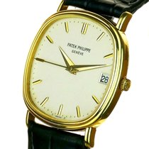 Patek Philippe Golden Ellipse Geelgoud Wit