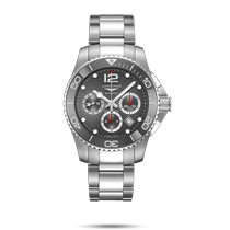 Longines HydroConquest Steel 43mm Grey No numerals United States of America, New York, Bellmore