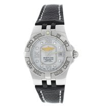 Breitling Galactic 30 Steel 30mm Mother of pearl Roman numerals United States of America, New York, New York