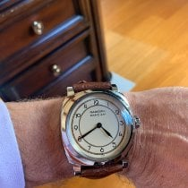 Panerai Radiomir 1940 3 Days pre-owned 47mm Champagne Leather