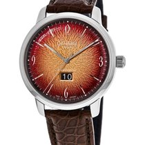 Glashütte Original Sixties Panorama Date Steel Arabic numerals United States of America, New York, Brooklyn