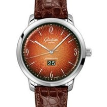 Glashütte Original Sixties Panorama Date new Automatic Watch with original box 2-39-47-09-02-04