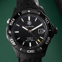 TAG Heuer Titan Automatik Schwarz 42.5mm gebraucht Aquaracer 500M