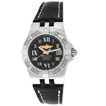 Breitling Galactic 30 Steel 30mm Black Roman numerals United States of America, New York, New York