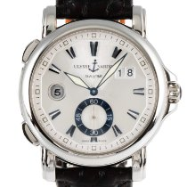 Ulysse Nardin Dual Time 243-55 Very good Steel 41.5mm Automatic