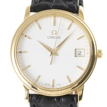 Omega De Ville Or jaune 34mm Blanc