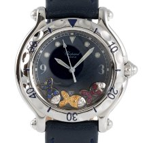 Chopard Happy Sport Steel 32.5mm Blue