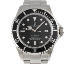 Rolex Sea-Dweller Acero 40mm Negro