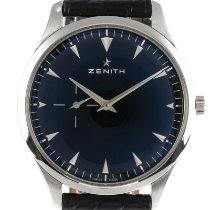Zenith Elite Ultra Thin Acero 40.5mm Negro
