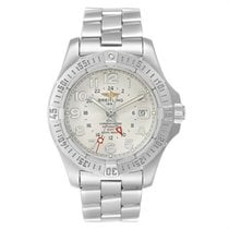 Breitling Colt GMT Steel 40mm White Arabic numerals United States of America, New York, New York