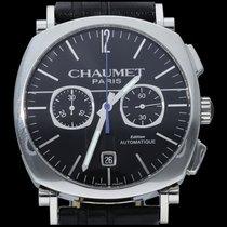 Chaumet Dandy Acero 40mm Negro Sin cifras