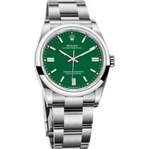 Rolex Oyster Perpetual Steel 41mm Green No numerals United Kingdom, London