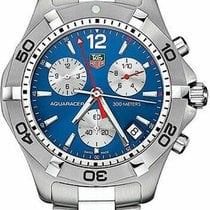 TAG Heuer Aquaracer pre-owned 42mm Chronograph Date Steel