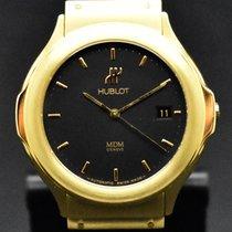 Hublot Classic Żółte złoto 36mm Czarny Bez cyfr