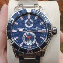 Ulysse Nardin Diver Chronometer pre-owned 44mm Blue Date Steel