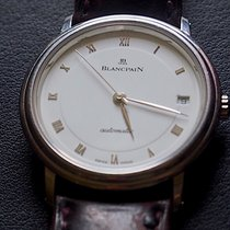 Blancpain Villeret Ultra-Plate occasion 34mm Blanc Date Cuir