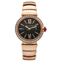Bulgari Lucea 102260 New Rose gold 33mm Automatic
