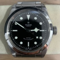Tudor Black Bay 41 Steel 41mm Black No numerals