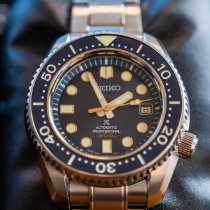 Seiko Marinemaster Steel 44.3mm Blue No numerals United States of America, Connecticut, New Haven