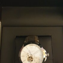 Lancaster new Automatic 21mm Gold/Steel Mineral Glass