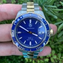 TAG Heuer Aquaracer 500M Gold/Steel 41mm Blue No numerals United States of America, California, Los Angeles