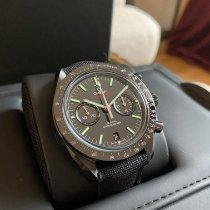 Omega Céramique Remontage automatique Noir Sans chiffres 44,125mm occasion Speedmaster Professional Moonwatch