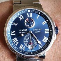 Ulysse Nardin Marine Chronometer Manufacture Steel 43mm Blue United States of America, Illinois, Plainfield