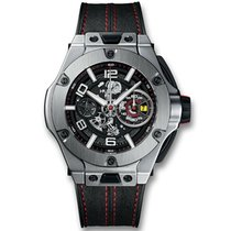 Hublot Big Bang Ferrari new Automatic Chronograph Watch with original box and original papers 402.NX.0123.WR