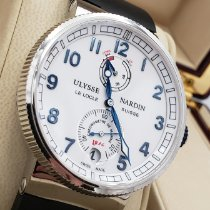 Ulysse Nardin Marine Chronometer Manufacture Steel 43mm White Arabic numerals United States of America, Illinois, Plainfield
