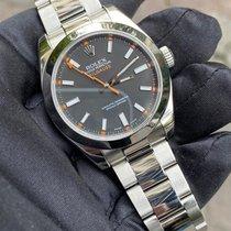 Rolex Milgauss Steel 40mm Black No numerals United Kingdom, HAYES