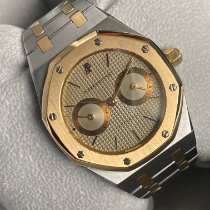 Audemars Piguet Royal Oak Day-Date Acero y oro 36mm Plata Sin cifras