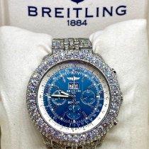 Breitling Bentley 6.75 Stahl 48mm Blau Keine Ziffern