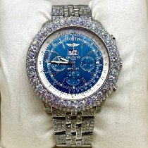Breitling Bentley 6.75 new 2005 Automatic Chronograph Watch with original box A44362
