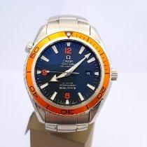 Omega Seamaster Planet Ocean Steel 45mm Black Arabic numerals