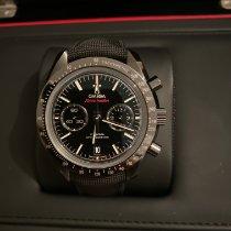 Omega Céramique Remontage automatique Noir Sans chiffres 44mm occasion Speedmaster Professional Moonwatch